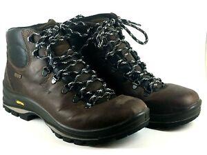 Grisport Fuse Mens UK 10 Brown Leather Walking Hiking Trek Trail Boots - Used