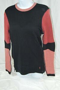 Smartwool Women's Intraknit™ Merino 250 Thermal Colorblock CrewMSRP$140(2002)Blk