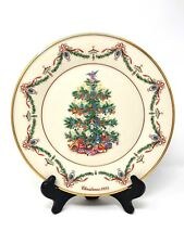 Lenox Christmas Tree 1993 Holiday Plate Limited Edition - Made in the Usa