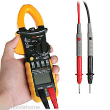 PEAKMETER MS2108A 4000 Counts Digital Clamp Meter Auto Manual Range DC AC Tester