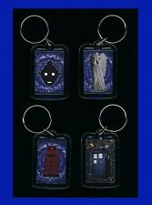 Doctor Who Inspired Keychains Lot 4 Individual (Tardis,Dalek,Angel,Cyberman) NEW