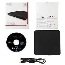 LG USB 2.0 Ultra Slim External DVDRW Drive CDRW CD DVD Burner Writer SP80NB60