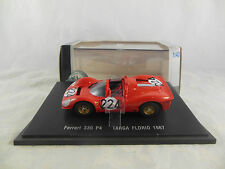 Rare Eagles Race Ferrari 330 P4 Targa Florio 1967 Red Racing No 224 Universal