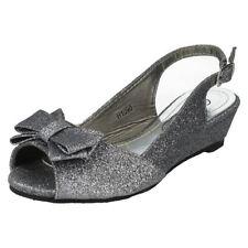 Sandales en synthétique pour fille de 2 à 16 ans pointure 32