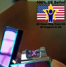 Zippo Lighter Rechargeable X-Blaze Lazer Lighter Purple NEW IN BOX
