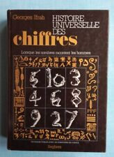 Histoire universelle des chiffres - Georges Ifrah - Ed Segher - Maths Sciences