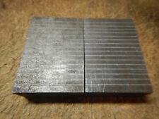 Older Machinist Grinding Magnetic Transfer Blocks Jig Fixture Tooling Lot M52
