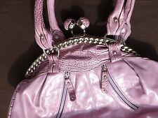 Damen-Hand-/Schulter-Tasche rosa Stil Kroko Doc Holiday Rarität auffallend cool!