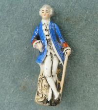 Porzellanfabrik Unger, Schneider & Cie Porcelain Man Figurine 18200 Germany
