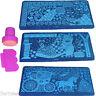 1 Kit Sello y Placa de Metal Estampado de Uñas Nail Stamp Decoration 49-64 Plate