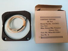 "Grimes Aircraft Instrument Eyebrow Light 3-1/8"" New (B-4760-1)"