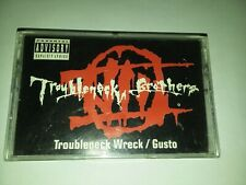 TROUBLENECK BROTHERS - RARE 1993 Troubleneck Wreck/ Gusto cassette tape / RAP