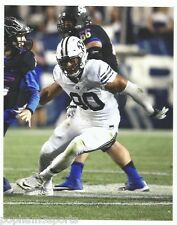 BRONSON KAUFUSI - BYU COUGARS BRIGHAM YOUNG - 8x10 COLOR UNSIGNED PHOTO