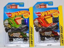 2015 HOT WHEELS RLC FACTORY SET OFF ROAD AERO POD X2 BOTH COLORS