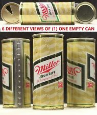 Miller High Life Beer 16 oz 1 Pint Can Milwaukee Wisconsin 24K