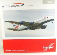 Airbus A380 British Airways ( Reg. G-Xlel) 1:200 Herpa