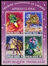 """TOGO C108a (Mi B40) - Apollo XI Lunar Mission """"Souvenir Sheet"""" (pa93861)"""