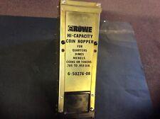 Rowe Changer Hi-Capacity Coin Hopper # 6-50276-08 - Bc35 Bc1200 Bc3500 Works !