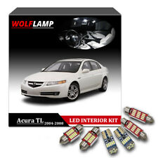 12Pcs No Error White Bulbs LED Interior Kit Car Lights For 2004-2008 Acura TL
