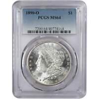1890 O Morgan Dollar MS 64 PCGS 90% Silver $1 US Coin Collectible
