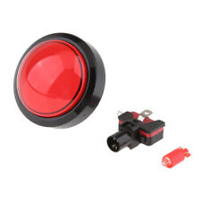 60mm 12V LED Arcade Video Game Button Switch & Microswitch Push Buttons Red