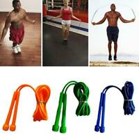 Hot Skipping Rope Nylon Adjustable Jump Boxing Fitness Speed Training Rope K4H1