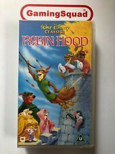 Disney Classics Robin Hood VHS Retro Video, Supplied by Gaming Squad Ltd