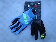 SHIFT MENS motocross RAID gloves sz 11 X LARGE 14611-002-XL Blue