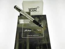 MONTBLANC WILLIAM FAULKNER SFERA WRITERS EDITION 2007  referenza 101185