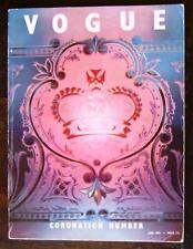 VOGUE Magazine, June 1953 Coronation Special Cecil Beaton