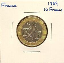 1989 France 10 Francs