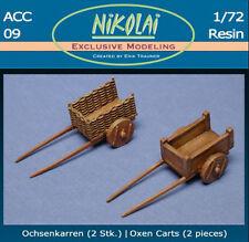 Nikolai 1/72 Oxen Carts #ACC09