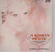 Maiden's Prayer-Encore Favorites For Piano-Gabriel Chodos-Music CD - LIKE NEW-2