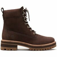 Timberland - Courmayeur Valley 6 in Boot TB Dark Brown Nubuck Damen Boot