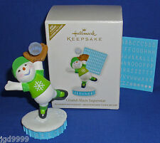 Hallmark Ornament Grand Slam Superstar 2011 Snowman Baseball Can Be Personalized