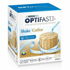 OPTIFAST VLCD SHAKE 636G COFFEE FLAVOUR FOR WEIGHT LOSS 12 X 53G SACHETS