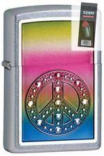 Zippo 24898 peace for all Lighter + FLINT PACK