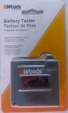 Southwire Woods Battw1 Analog Battery Tester Tests 6 Battery Types
