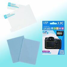Sony Alpha 99 II LCD Screen Guard Protector PET Scratch Resistance JJC LCP-A99II