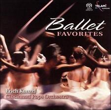 Eric Kunzel: Ballet Favorites Telarc Hybrid Surround SACD Still Sealed