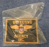 Company Closed/Retired Patch: Detective Agency Inc.