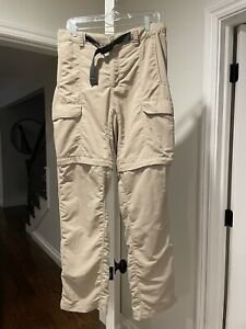 Northface Men's convertible hiking pant Size Medium
