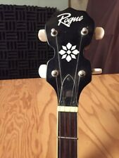 Rouge 5 String Banjo Guitar. Fair Condition