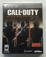 Call Of Duty: Black Ops Collection PS3 Brand New Sealed!! PlayStation 3 READ DES