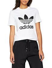 Adidas Originals Trefoil Tee T-shirt donna Bianca 44 Blanc