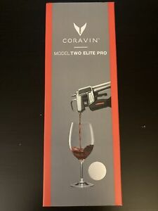 Coravin 112011 Elite Pro Wine Preservation Easy Pouring System 4 Capsules Silver