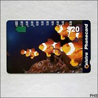Telstra Marine Fish N960654a 1122 $20 Phonecard (PH8)