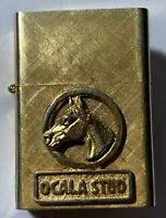 Cigarette Lighter Ocala Stud 14K Gold Plated Florentine 02-262