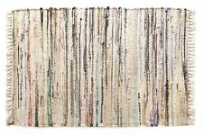 "Sturbridge Stone Rag Area Rug, 30"" x 50"", 100% Cotton - Hand Woven Rag Throw Rug"