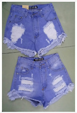PUNNY HIGH WAIST TATTERED SHORT SIZE SMALL
